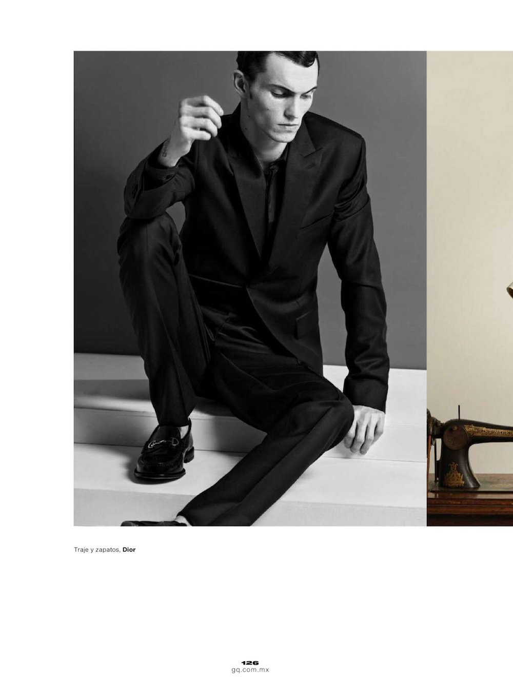 Luc Defont by Joseph Degbadjo for GQ Mexico April 2021 Editorial