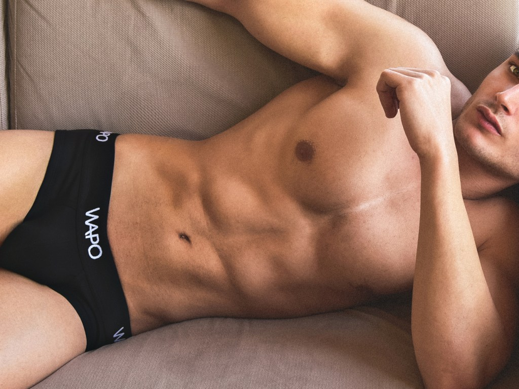 All briefs have a double layered front part with soft cotton fabric for even better comfort.
