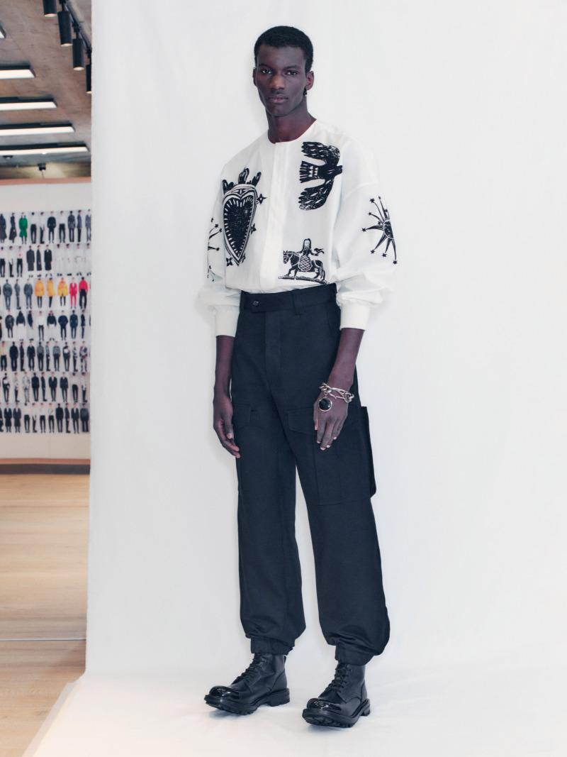 Alexander McQueen Men's Fall 2021