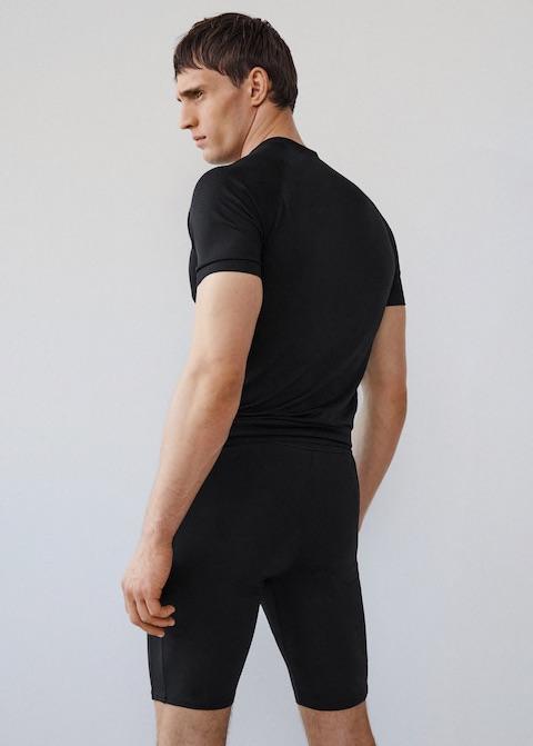 Pocket short leggings by Mango Man