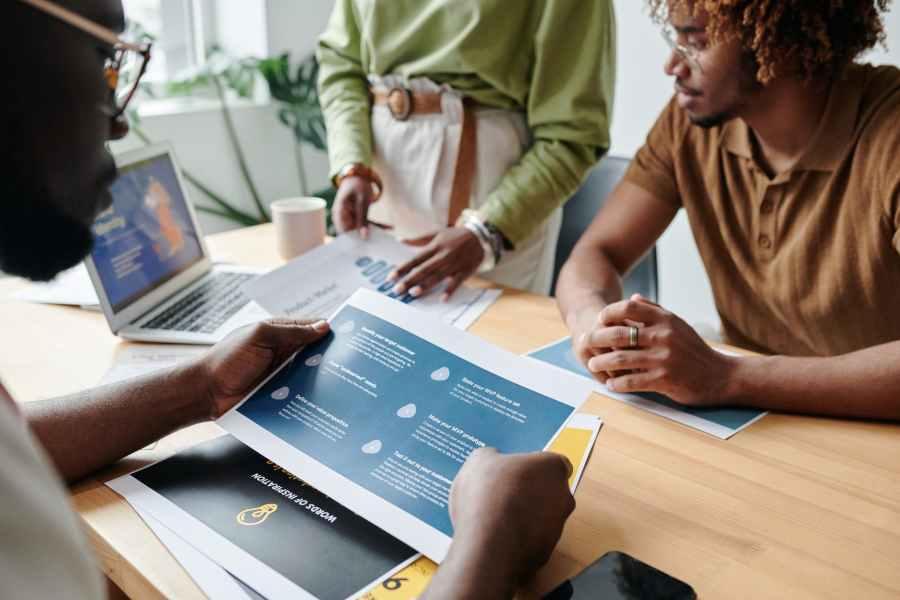 man people woman laptop. Photo by Darlene Alderson on Pexels.com