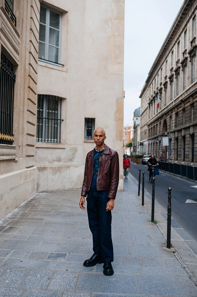 Dressing for the Casino — Street style at Paris Fashion Week Men's Spring 2022, photographed on June 24, 2021.