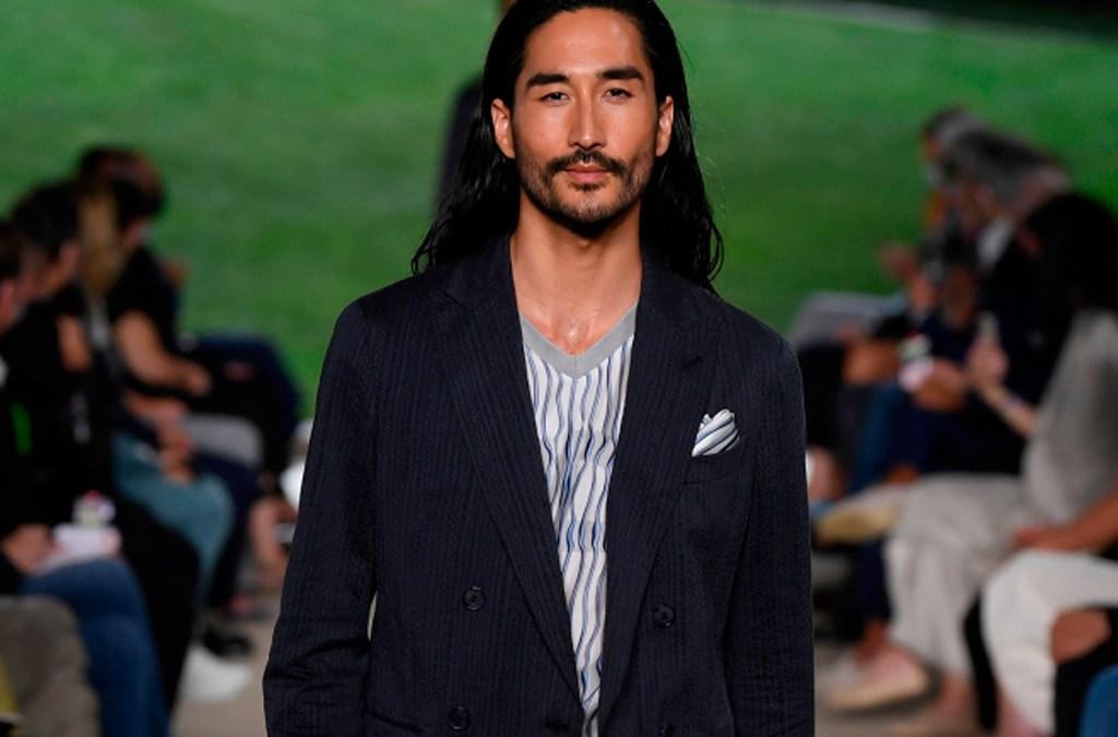 Giorgio Armani Menswear Spring 2022 Milan cover