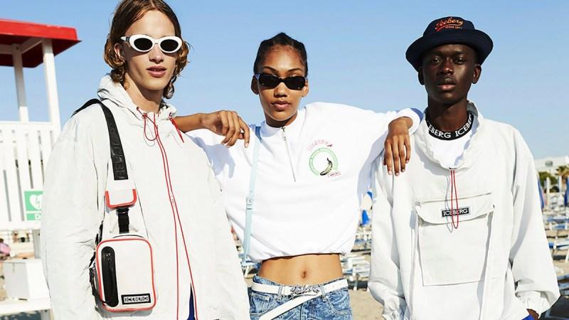 Iceberg Menswear Spring 2022 Milano