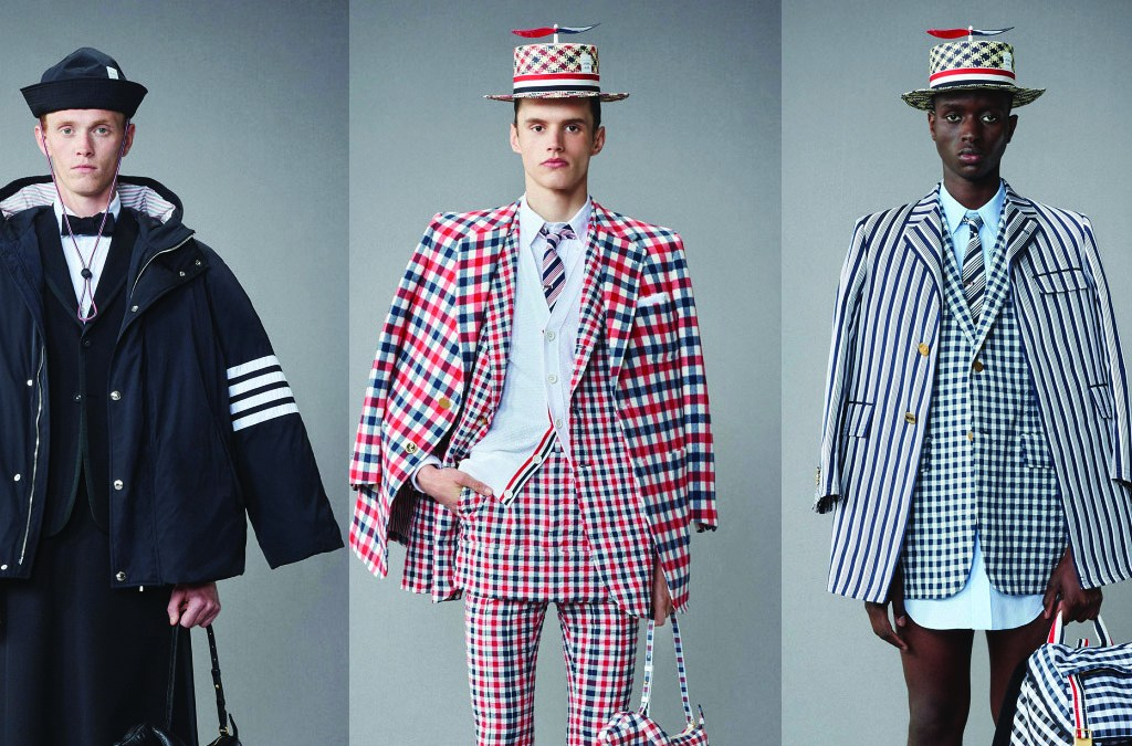 """The designer said he has """"zero interest in designing a collection that is casual."""""""