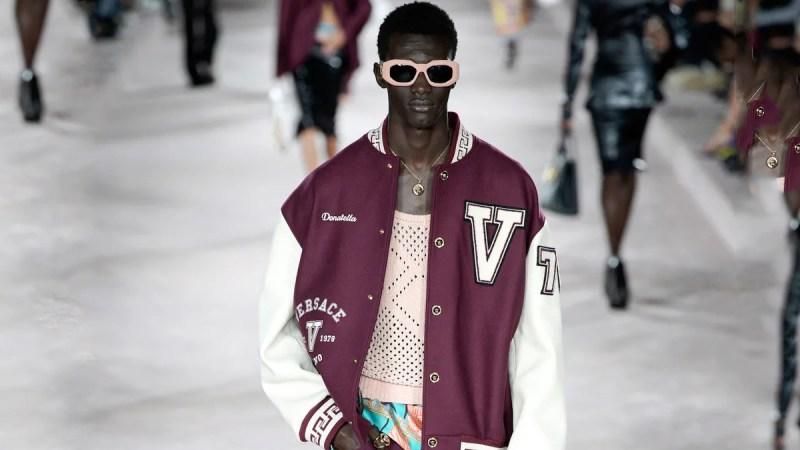 Versace RTW Spring 2022 Milan cover