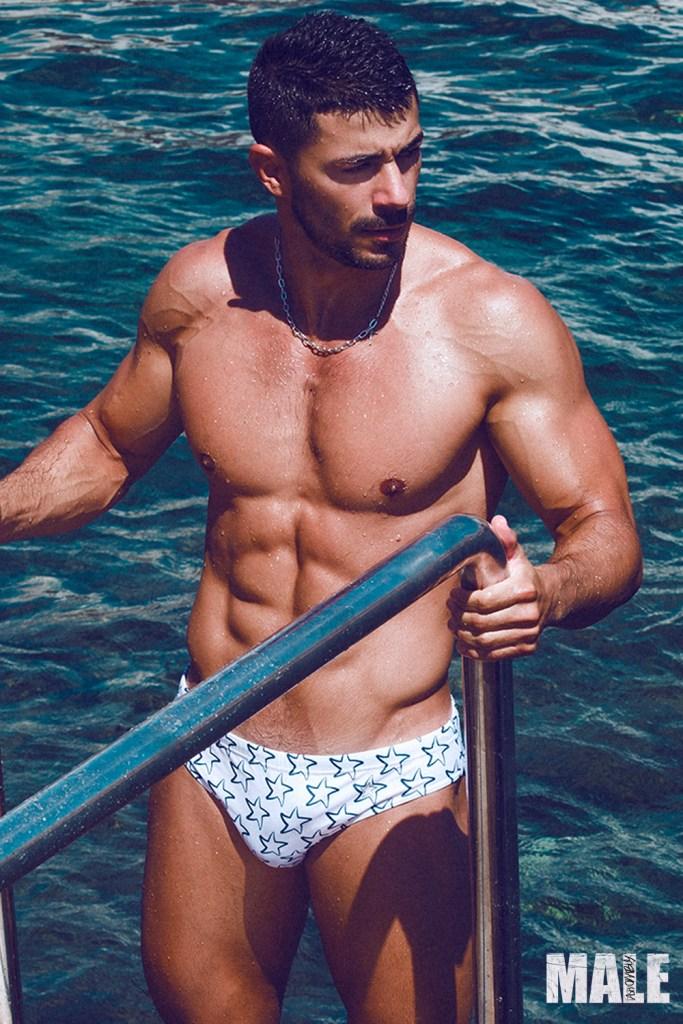 Bruno Miranda by Adrián C. Martin for Fashionably Male