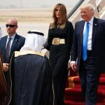 Melania trump in Saudi Arabia