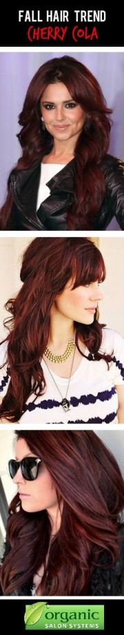 cherry coke hair style
