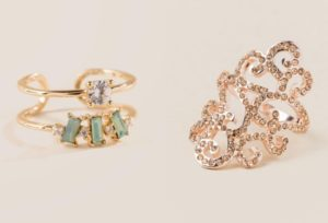 Subtle Style: 10 Unique and Affordable Rings From Fashionpaparazzis