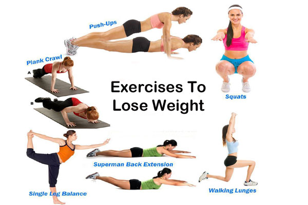 Lose Weight with excercises