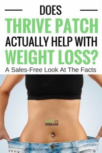 Genuine Thrive Patch Review 2019- Does it help in Weight Loss
