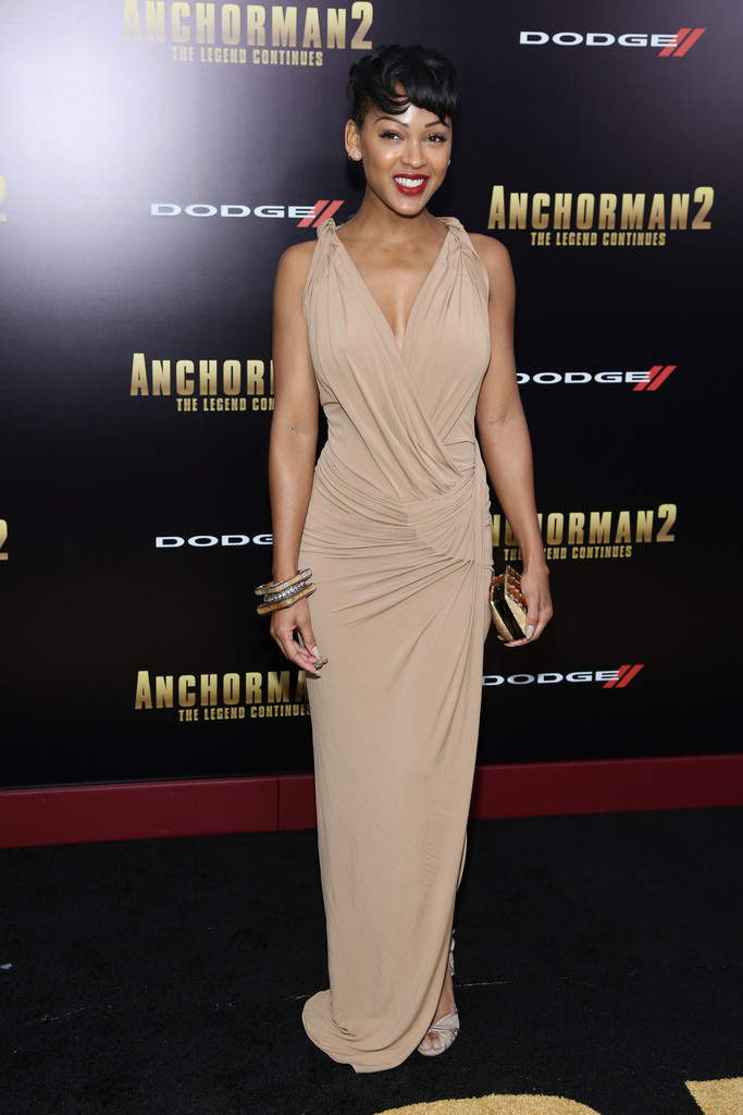 Megan Good In Donna Karen