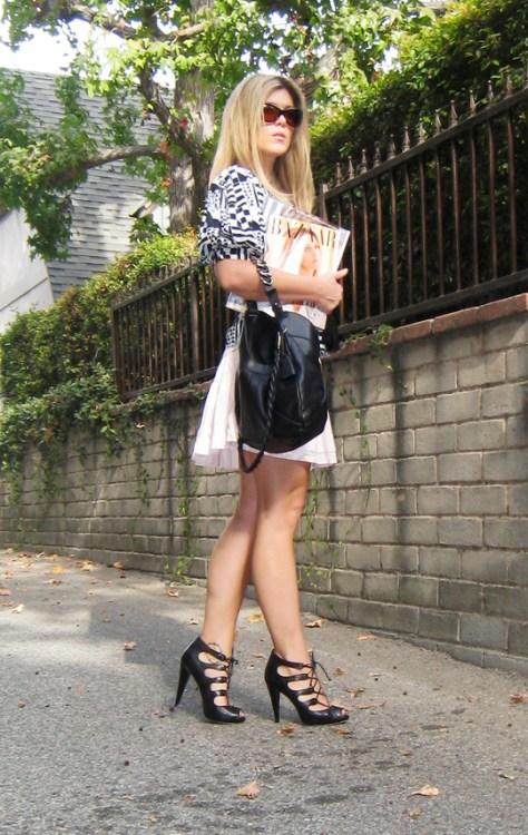 front strap heels