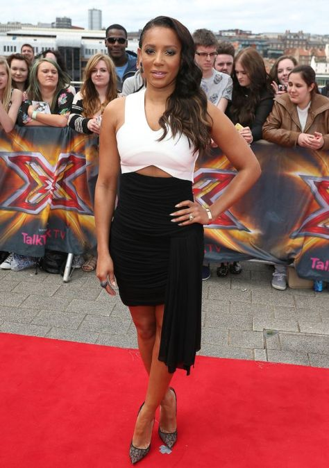 Mel-B-arrives-for-X-Factor-Auditions