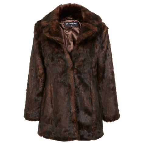 Faux Fur coat 1