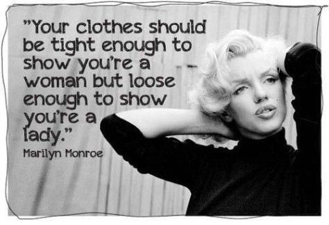 wise-quotes-for-girls-sayings-clothes-fashion-marilyn-monroe