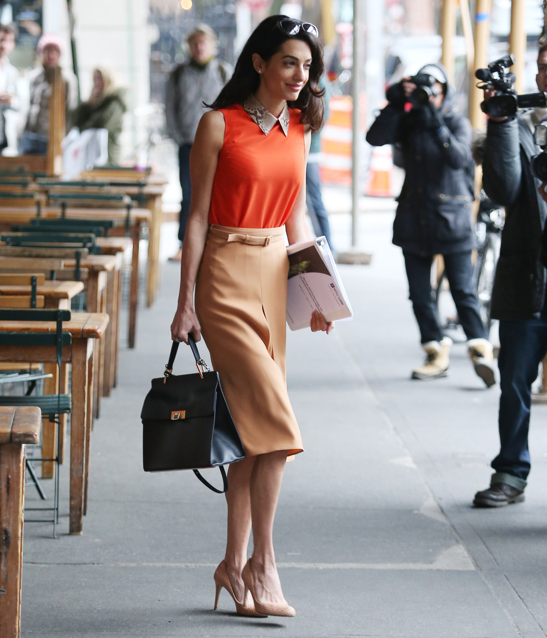 Amal Clooney style Archives - fashionandstylepolice