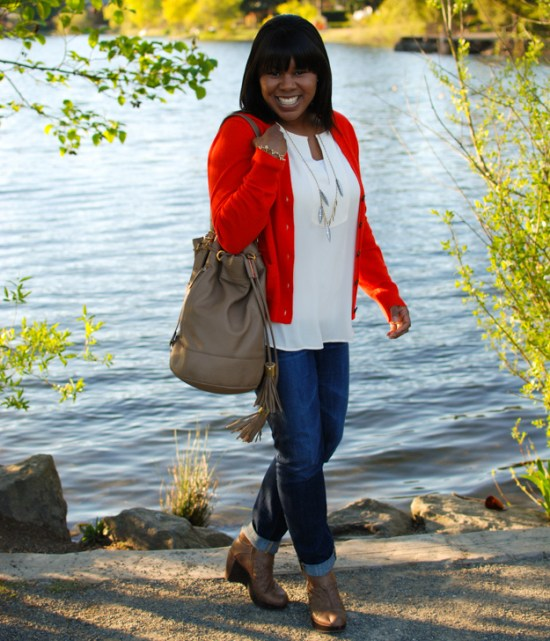 lace-pearls-red-cardigan-1
