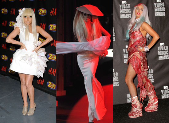 Photos-Lady-Gaga-Red-Carpet-Stage-Fashion-Style