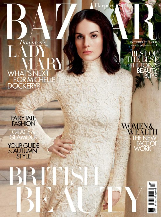Michelle-Dockery-Downton-Abbey-Harpers-Bazaar-UK-Magazine-October-2015-Issue-Tom-Lorenzo-Site-TLO-1