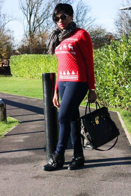 Christmas Jumper Look