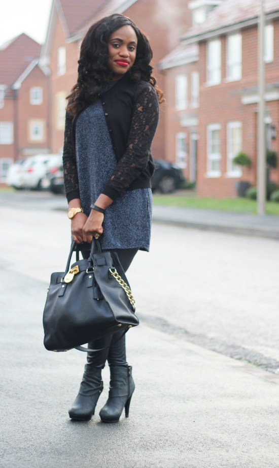 OOTD Leather Leggings Image