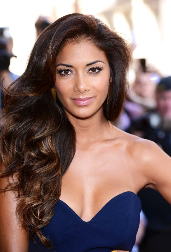 press-event-X-Factor-Nicole-Scherzinger-kept-her-makeup