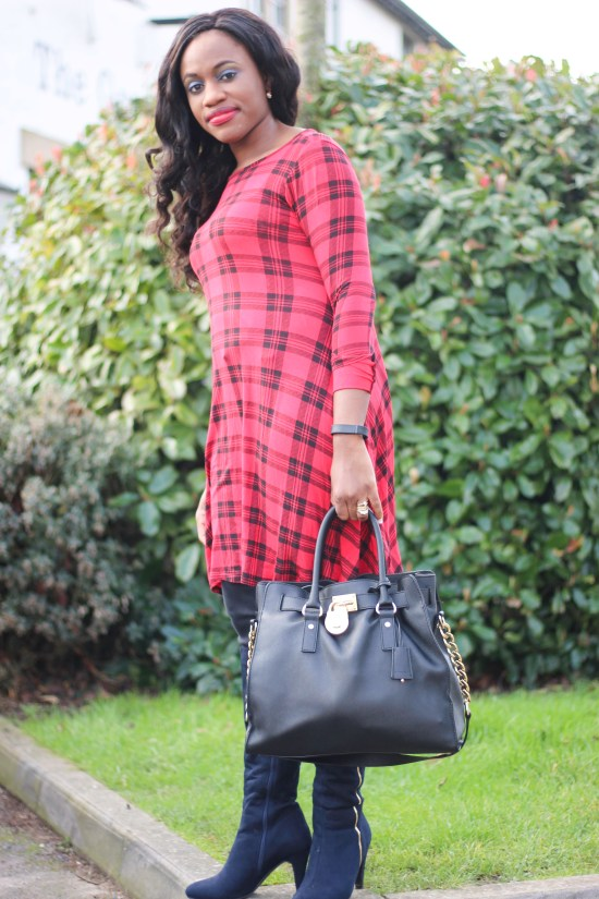 Tartan Tunic Dress