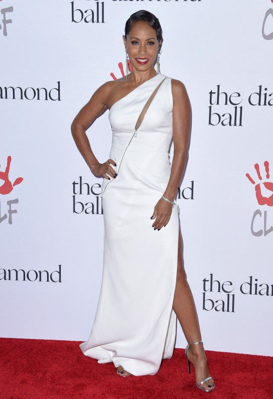 Jada+Pinkett+Smith+Dresses+Skirts+One+Shoulder+Li8_N7J96Stx