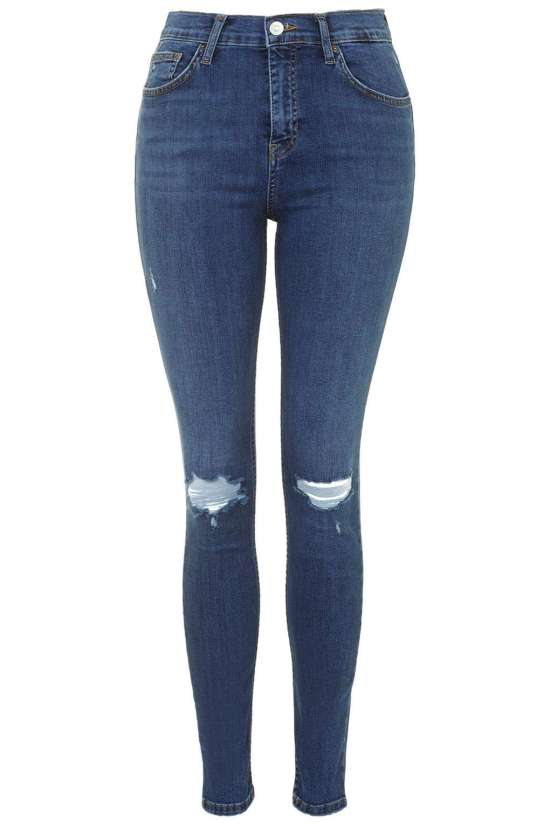 Topshop Ripped Jamie Jeans Image
