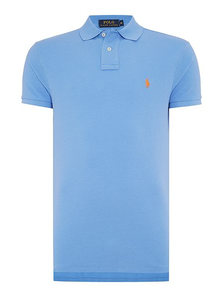 Royal Blue Polo Shirt Image