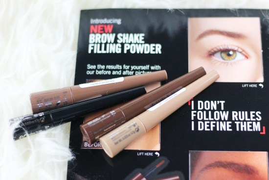 Rimmel London Brow Shake Filling Powder image