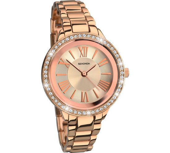 Sekonda Rose Gold Bracelet Watch Image