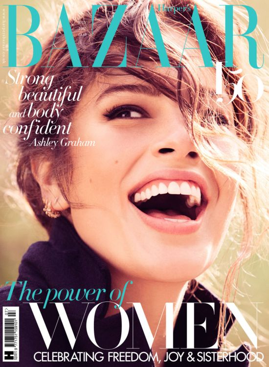 Ashley Graham Harper's Bazaar Image