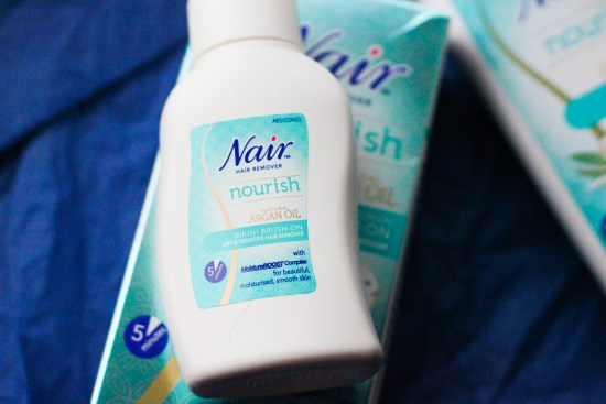 Nair nourish hair removal cream image