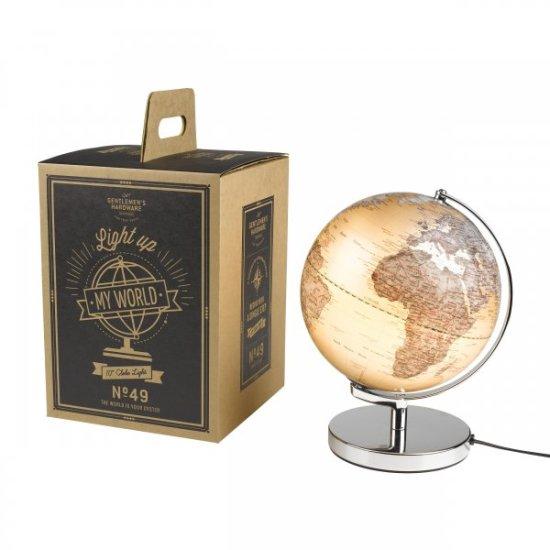 Illuminated Light Up Globe Image