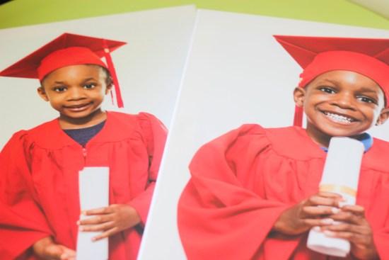 Kids graduate preschool image