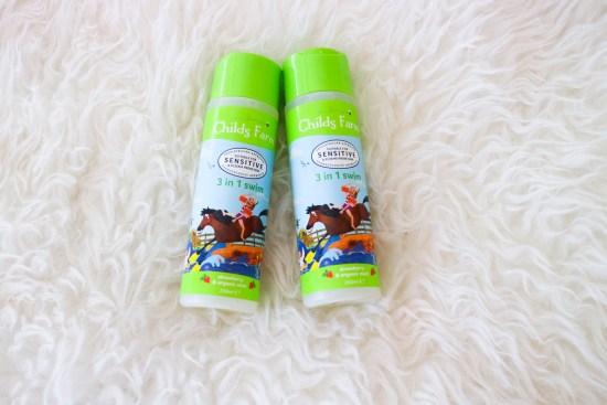 Childs Farm SensitiveSwim Strawberry & Organic Mint 250ml image