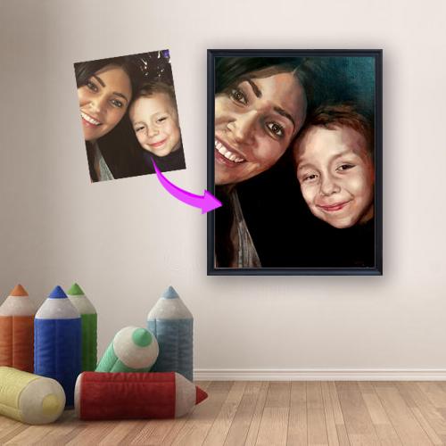 PortraitFlip Picture Image