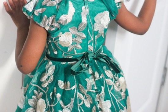 Stunning girls dress image