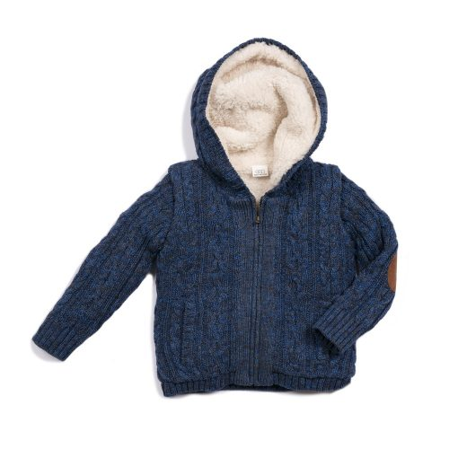 Knit Hooded sweater image