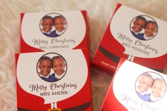 Christmas chocolates image