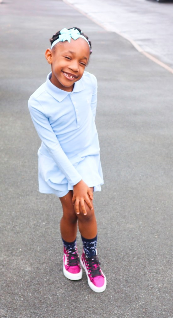 Blue Shirt Dress image
