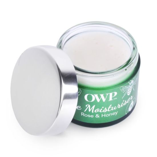 Organic Where Possible (OWP) Rose & Honey Face Moisturiser picture