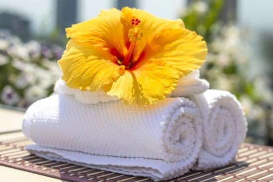Spa towels image