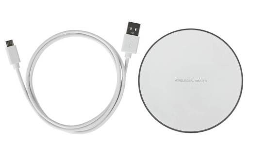 White Wireless Charger giveaway image