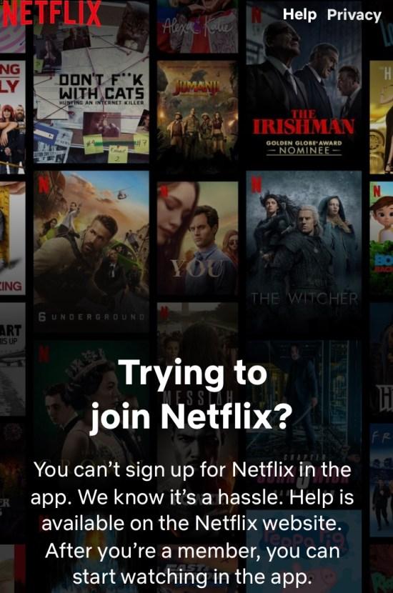 Netflix series image