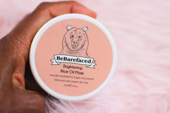 BeBarefaced Brightening Rice Oil Mask picture