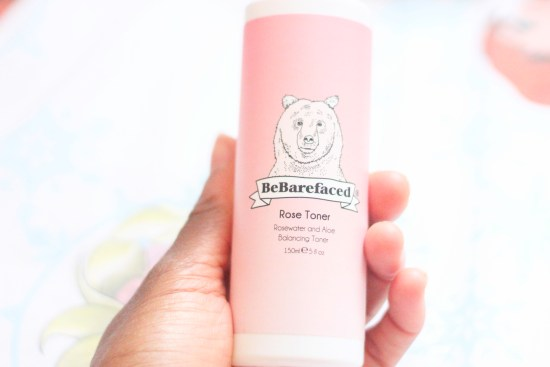 Be Barefaced Rose Toner review image